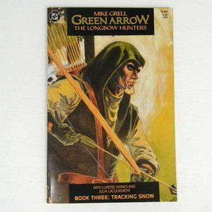 DC Comics Green Arrow The LongBow Hunters Book #3
